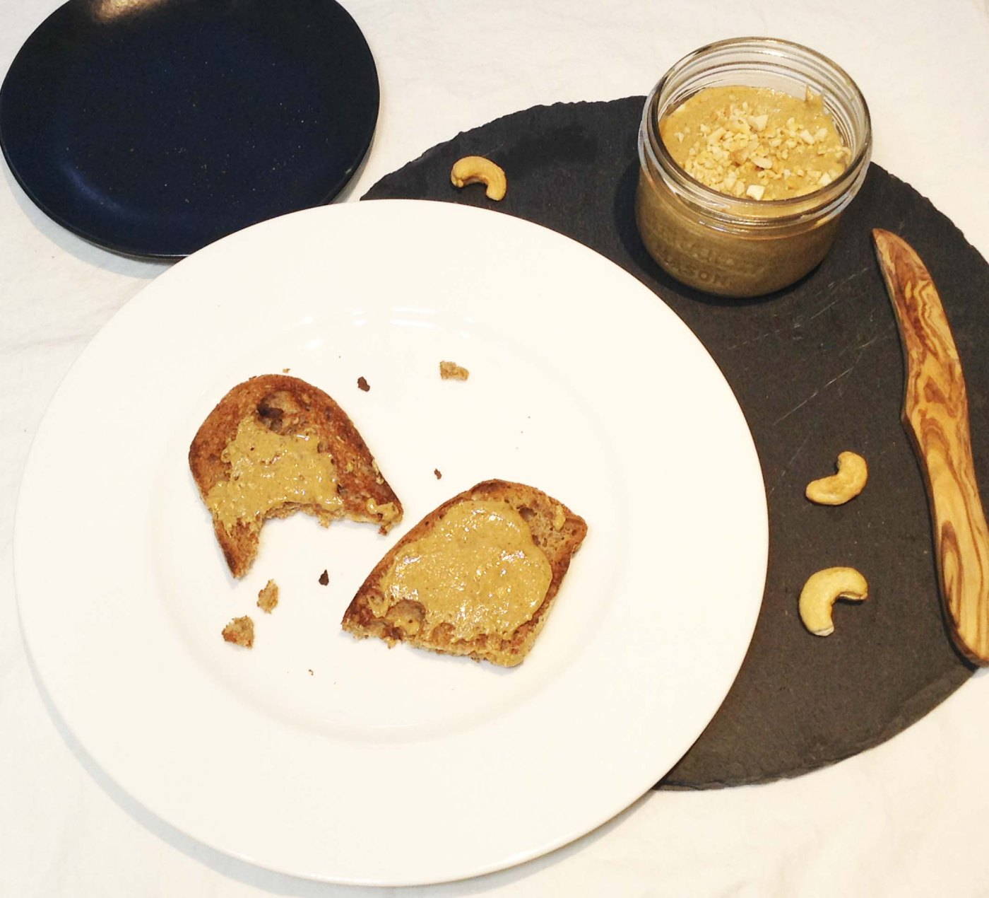spicy-cashew-butter-on-toast