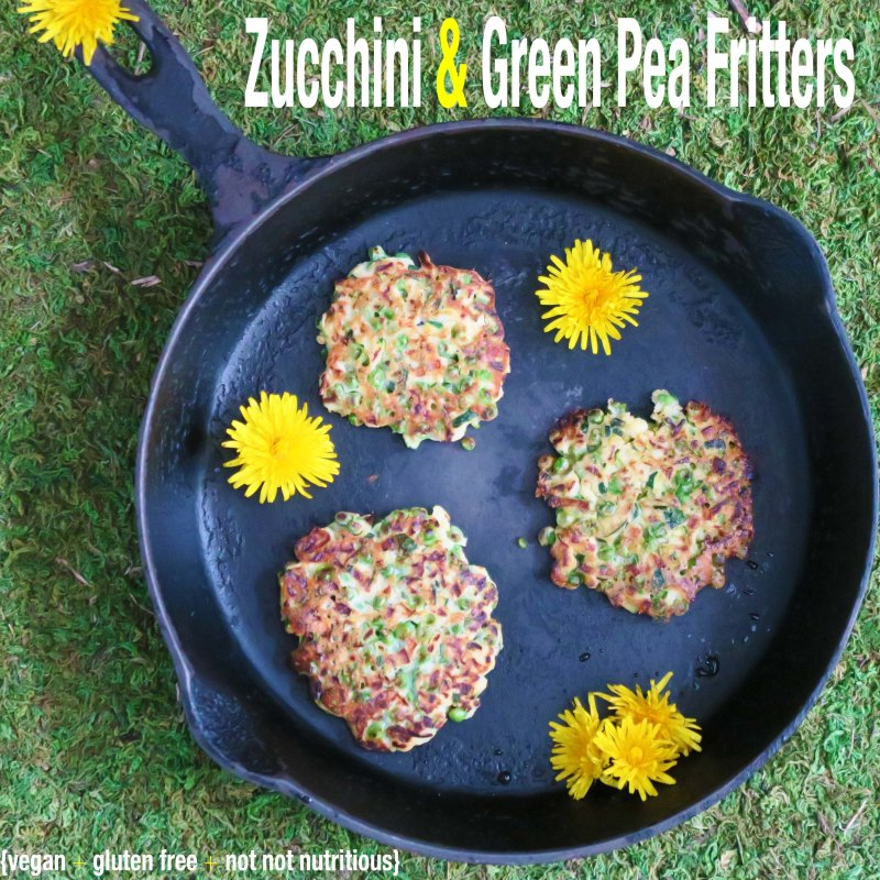 zucchini pea fritters in frying pan2IMG_1397