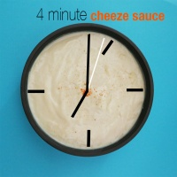 4 minute Cheeze Sauce